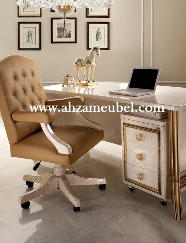 meja kantor ukir, meja kantor mewah, meja kantor klasik, meja kerja ukir, meja kerja direktur