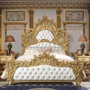 Tempat Tidur Ukir Mewah Mebel Jepara
