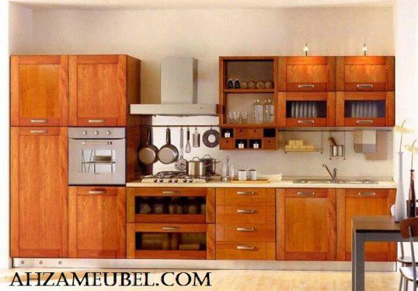 Kitchen Set Minimalis Kayu jati Mebel jepara