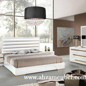 Tempat Tidur Modern Minimalis Cat Duco