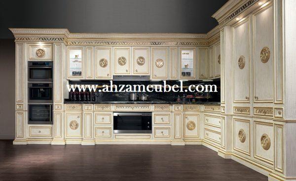 Kitchen Set Klasik Mewah Ukir Jepara