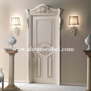 Pintu Kayu Ukir Klasik Mewah Mebel Jepara